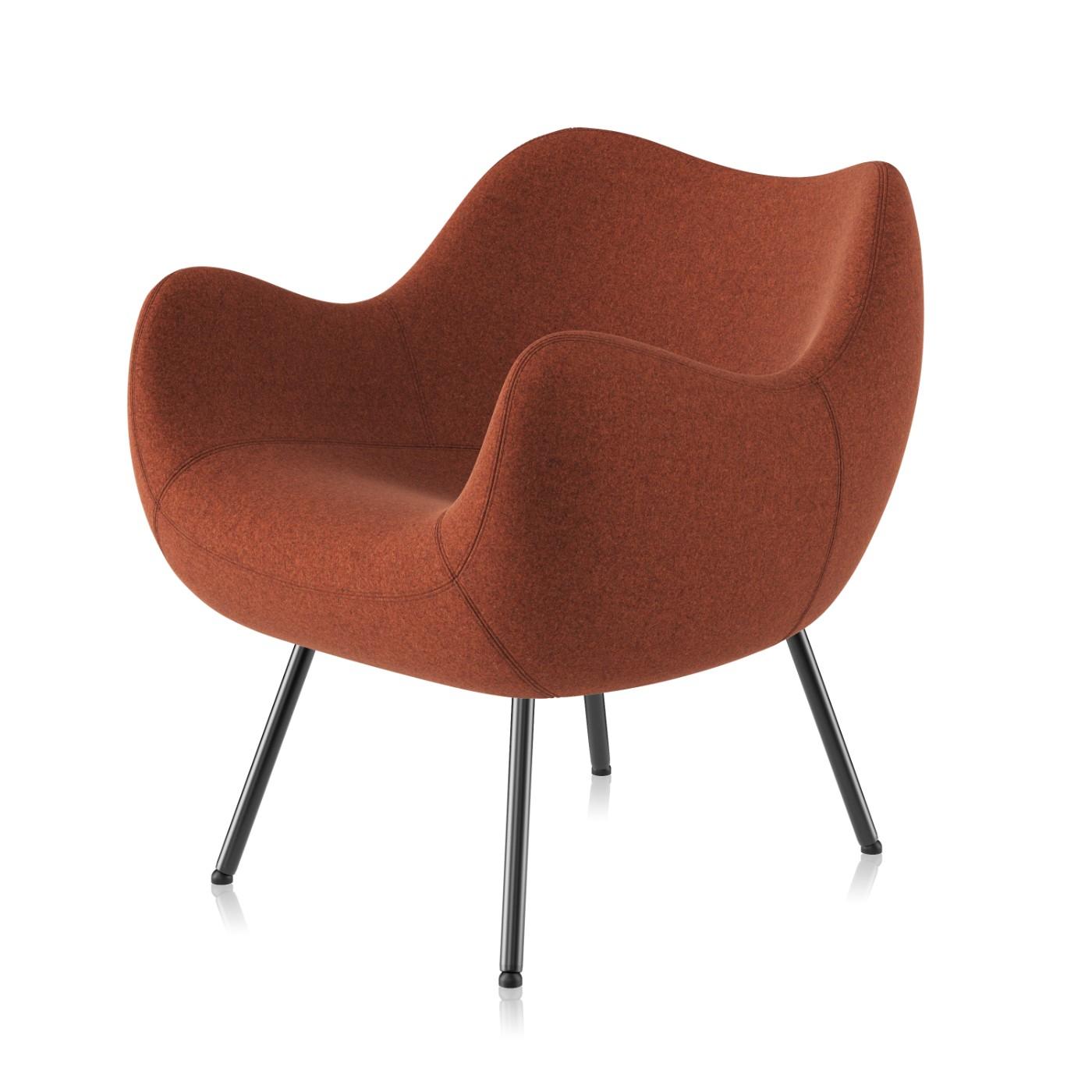 Fotel Rm58 Soft Tapicerowany 4 Nogi Vzór